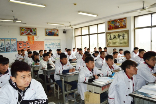 蓝翔烹饪学院的理论教学